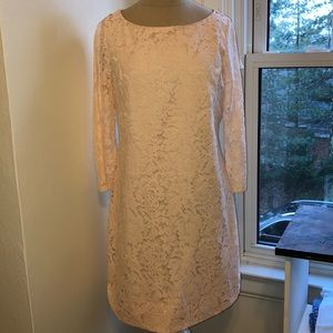 Vince Camuto Baby Pink Lace Dress